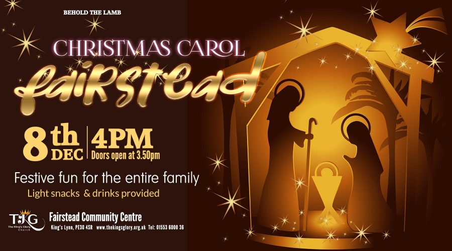 Christmas Carol @ Fairstead 4th of December