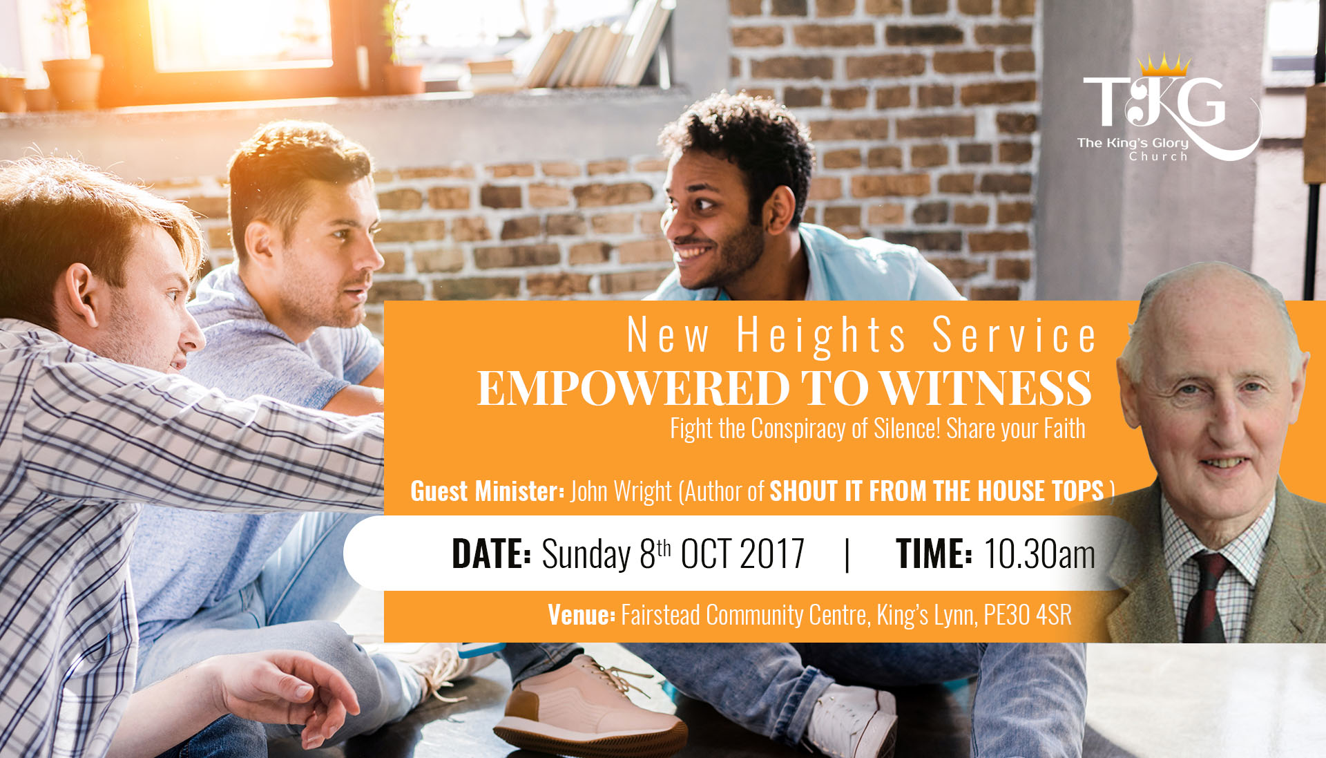Empowered to Witness (New Heights) Sunday 8th October